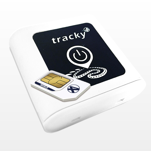 Tracky4 con SIM Internazionale